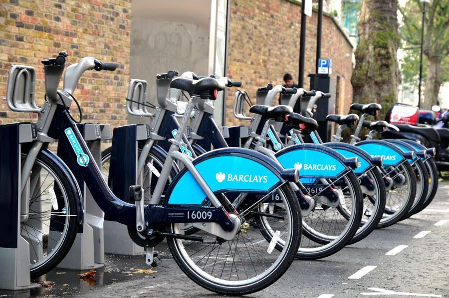 Londres el ejemplo pr ctico de lo que supondr para - Anclaje para bicicletas ...