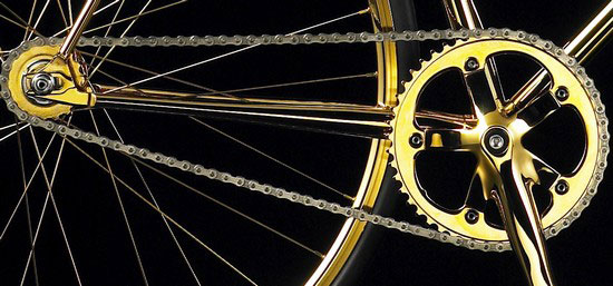 Aurumania Gold Bike Crystal Edition