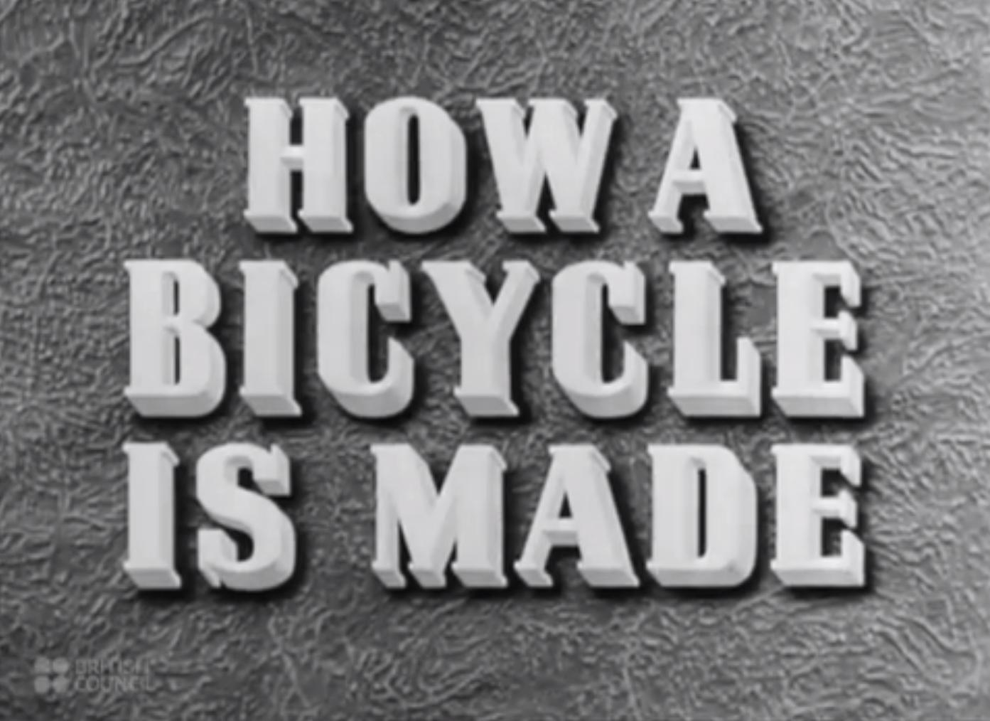 Bicihome ¿Como se hace una bici?