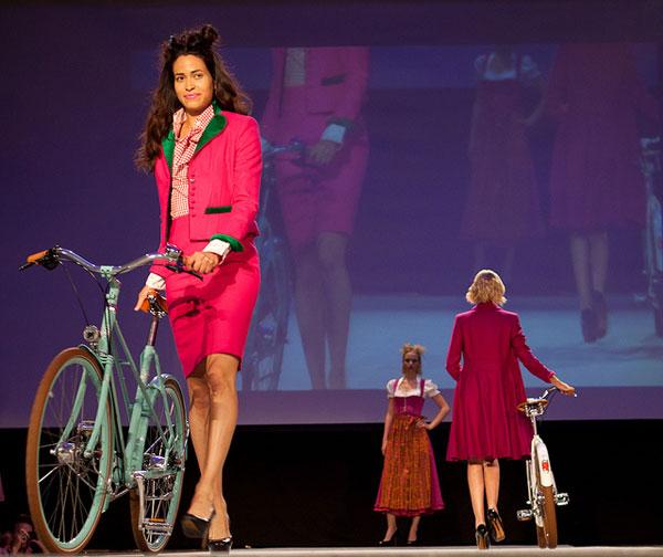 Bicihome desfile de moda Munich 2