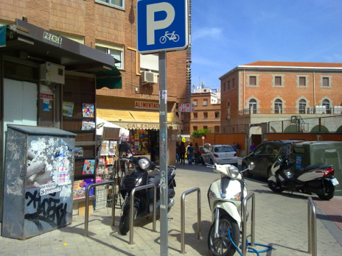 Bicihome parking bicicletas Madrid