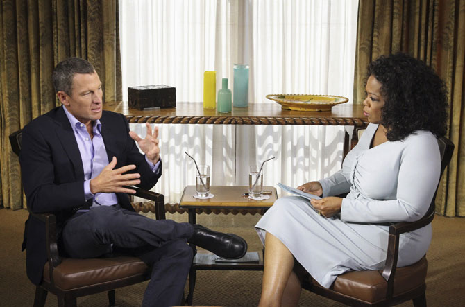 Lance Armstrong, Oprah Winfrey
