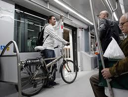 Bicihome bici en metro