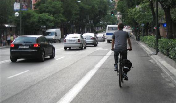 Bicihome ciclista urbano madrid
