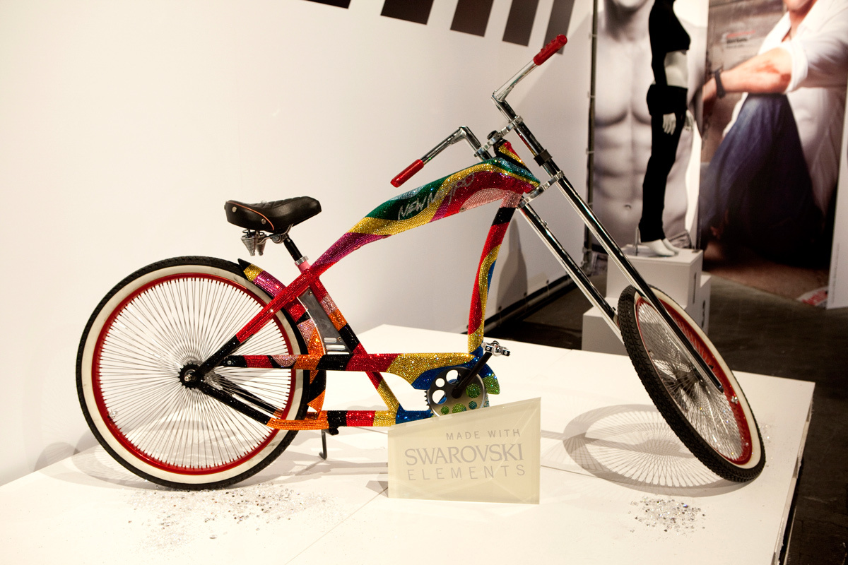 Bicihome Bicicleta Swarovsky