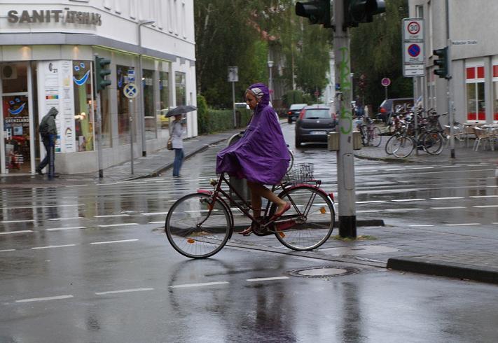 Bicihome bici con lluvia
