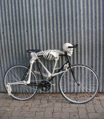 Bicihome bicicleta Halloween