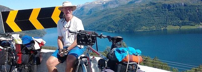 Bicihome Scheffler con su bicicleta robada