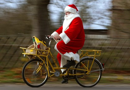 Bicihome Papa Noel