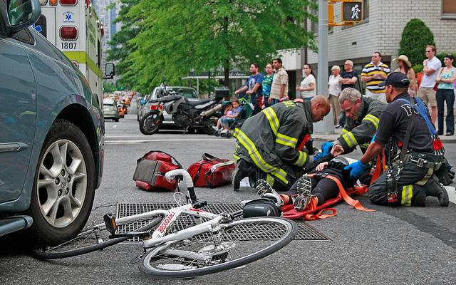 Bicihome accidente de bicicleta