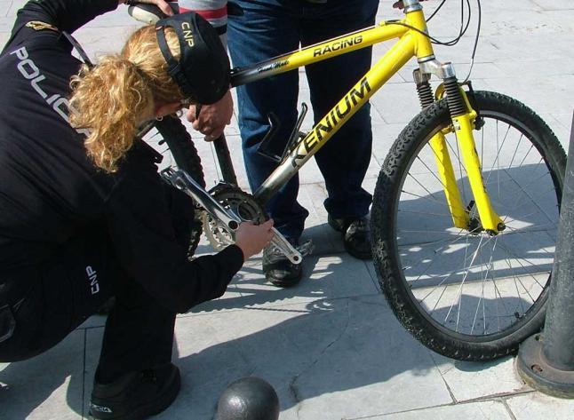 Bicihome robo bicicleta