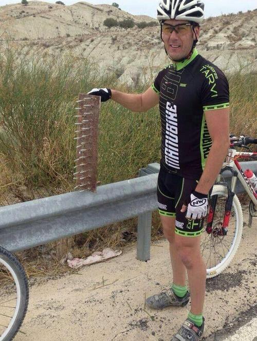 Bicihome Trampas encontradas en mayo de 2014 en Murcia