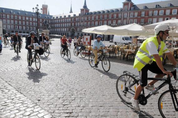 Bicihome madrid ciclistas
