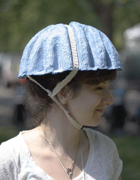 Bicihome paper pulp helmet