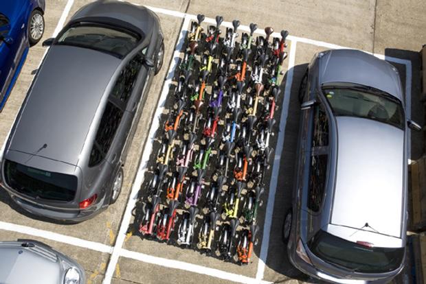 Bicihome comparativa coche bici espacio