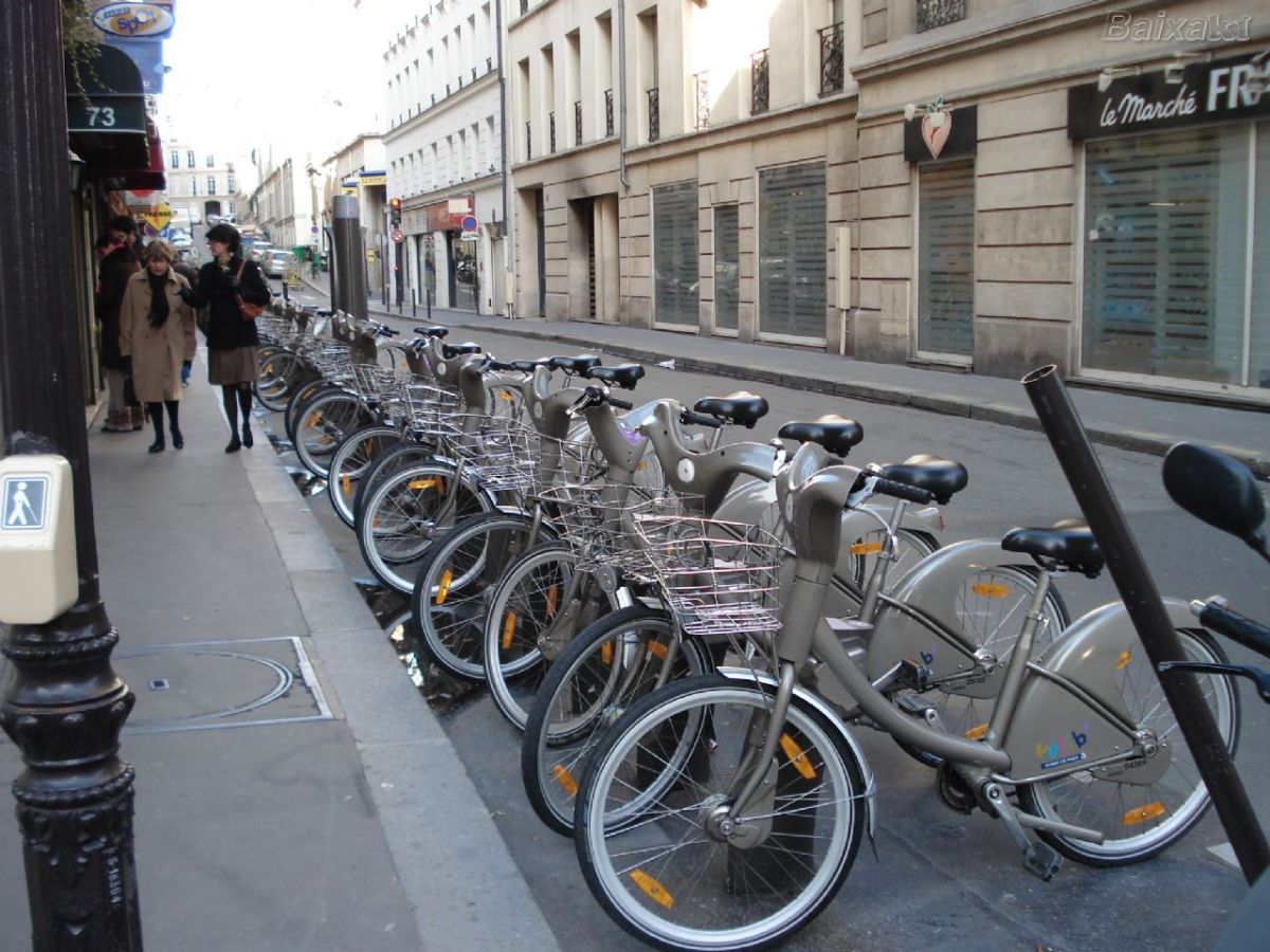 bicicleta paris