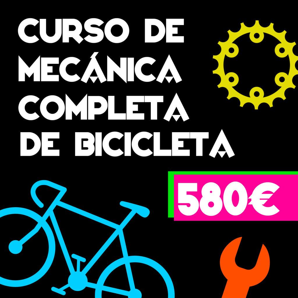 CURSO DE MECÁNICA COMPLETA DE BICICLETA
