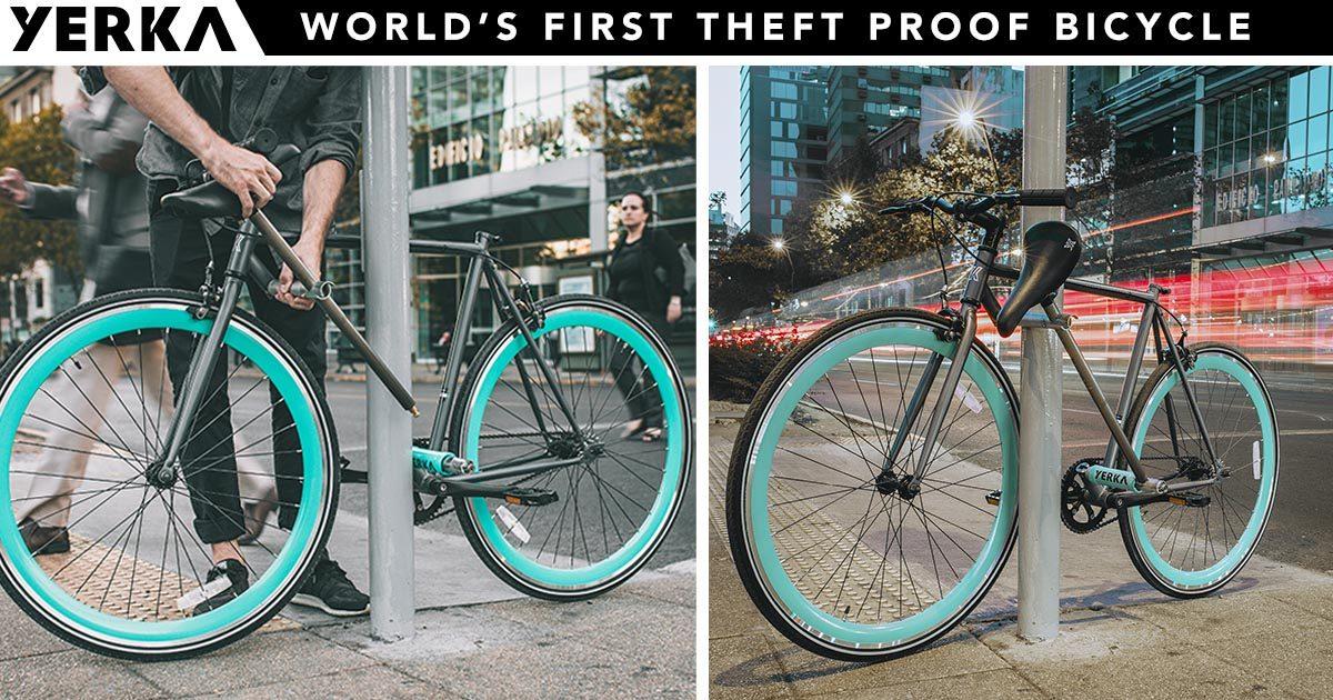Una bici que no se puede robar - Bicihome | Bicihome