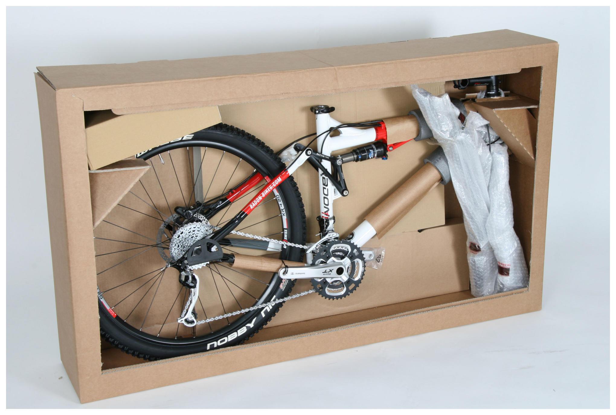 Enviar una bicicleta de segunda mano